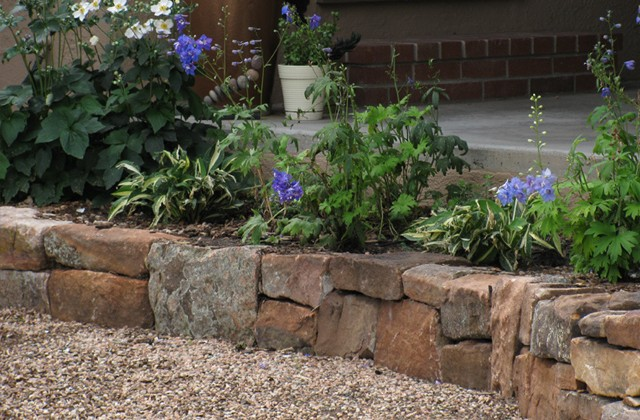Retaining Rock Wall